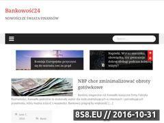 Miniaturka domeny www.bankowosc24.com.pl