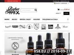 Miniaturka Sklep z pomadami oraz kosmetykami do brody (barbersupply.pl)