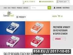 Miniaturka bardomed.pl (Aparat do drenażu limfatycznego)