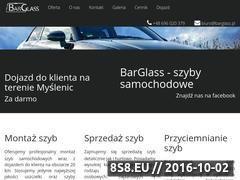 Miniaturka barglass.pl (Wymiana szyb samochodowych Myślenice)