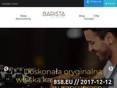Miniaturka domeny baristacaffe.pl