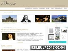 Miniaturka domeny www.barok.com.pl