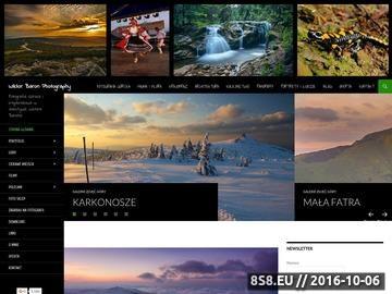 Zrzut strony Fotografia górska i pejzażowa