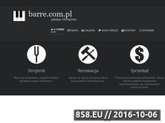 Miniaturka domeny www.barre.com.pl