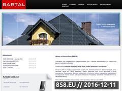 Miniaturka domeny www.bartal.com.pl