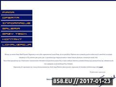 Miniaturka domeny www.bartcowiak.pl