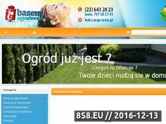 Miniaturka domeny www.baseny-ogrodowe-warszawa.pl