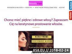 Miniaturka basiamuszarska.pl (Keratynowe prostowanie włosów oraz lifting rzęs)
