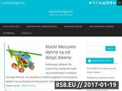 Miniaturka domeny www.basketballgame.pl