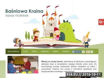Zrzut strony Baśniowa Kraina - klub malucha