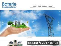 Miniaturka domeny www.bateriekondensatorow.com