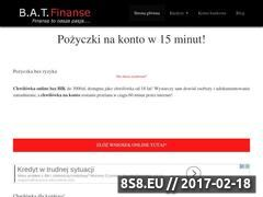 Miniaturka domeny batfinanse.pl