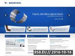 Miniaturka domeny www.baustahl.pl