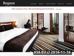 Miniaturka domeny www.bayjonnhotel.pl