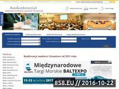 Miniaturka domeny www.bazakonferencji.pl
