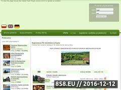 Miniaturka domeny www.bazanoclegowa.beskidy.pl