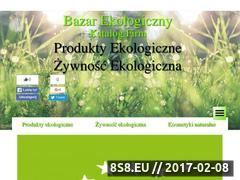 Miniaturka bazar-ekologiczny.pl (Katalog firm oferujących żywność i produkty eko)
