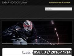 Miniaturka domeny www.bazar-motocyklowy.pl