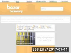 Miniaturka domeny bazarbudowlany.net.pl