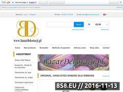 Miniaturka domeny www.bazardekoracji.pl