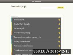 Miniaturka domeny www.bazawitryn.pl