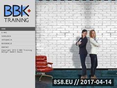 Miniaturka domeny www.bbktraining.pl