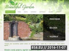 Miniaturka domeny www.beautifulgarden.pl
