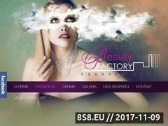 Miniaturka domeny beauty-factory.pl