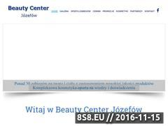 Miniaturka domeny beautycenters.com.pl