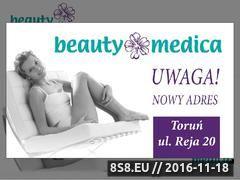 Miniaturka domeny www.beautymedica.pl