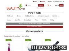 Miniaturka domeny beautyplanet.com.pl