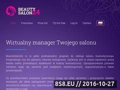 Miniaturka domeny beautysalon24.pl