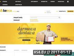 Miniaturka beeco.pl (Sklep ze zdrową żywnością i produkty ekologiczne)