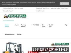 Miniaturka domeny behap.pl