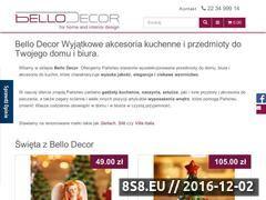 Miniaturka domeny bellodecor.com.pl