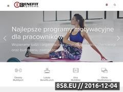 Miniaturka domeny benefitsystems.pl