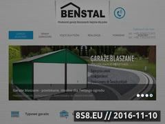Miniaturka domeny benstal.pl