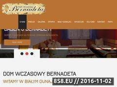Miniaturka domeny www.bernadeta.eu