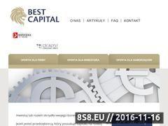 Miniaturka www.bestcapital.pl (Obligacje korporacyjne z BestCapital)