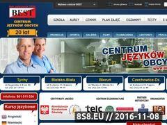 Miniaturka www.bestcentrum.pl (Szkoła językowa Tychy)
