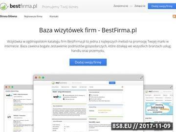 Zrzut strony Portal informacyjny - blog