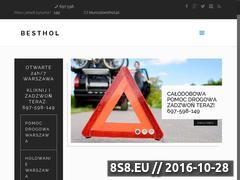 Miniaturka besthol.pl (Pomoc drogowa, warsztat samochodowy oraz mechanika)