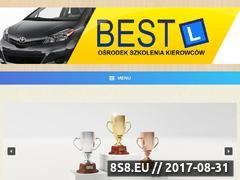 Miniaturka bestl.pl (Kursy prawa jazdy kategorii B)