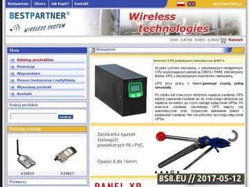 Zrzut strony Antena UMTS