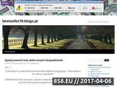 Miniaturka domeny bestseller78.blogx.pl