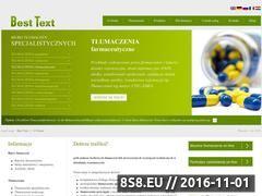Miniaturka Tłumaczenia specjalistyczne - biuro tłumaczeń Best Text (besttext.pl)