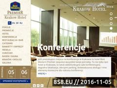 Miniaturka www.bestwesternkrakow.pl (Hotel w centrum <strong>krakow</strong>a z salą konferencyjną)