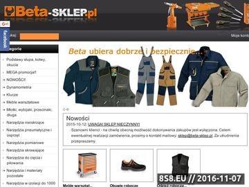Zrzut strony Narzędzia BETA buty, odziez robocza ochronna SKLEP BETA