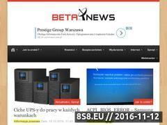 Miniaturka domeny betanews.pl