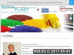 Miniaturka domeny betaplast.com.pl
